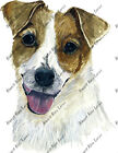 Jack Russell Terrier Dog Lover Home Office Decal Sticker Gift Stocking Stuffer