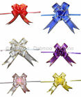 10 / 20 pc Pull Flower Ribbon Bow Birthday Party Wedding Gifts Easy To Make New
