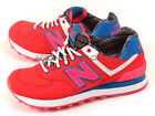 New Balance WL574SBD B Light Red & Pink & Blue Retro Lifestyle Classic Casual NB