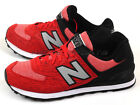 New Balance ML574TTB D Red & Black & Grey Retro Lifestyle Classic Casual 2015 NB