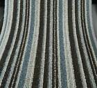Champ Stripe Carpet London Grey & Brown Striped Pattern 4m widths £11.99 M/2