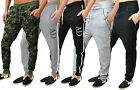 Mens Designer ZICO & AD Fleece Skinny Slim Joggers Bottoms Pants Trouser Harem