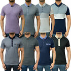Mens Designer Swade Polo T Shirt Casual Trendy Jersey Pique Top Various Styles