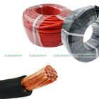 1/0 2/0 4/0 AWG 10/20 feet Welding Cable Red Black Gauge Copper Wire Solar Leads