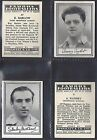 BARRATT - FAMOUS FOOTBALL ERS (A.02) 1954 (NUMBERS 01-25) SELECT YOUR CARD.