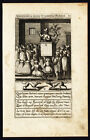 Antique Print-PULPIT-HERETIC-PREACHING-DEVIL PROMPTS-David-Galle-Wierix-1601