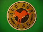 Beer Coaster  LINDENS Brewing Co Red Ass Ale  Ft Collins COLORADO  CLOSED
