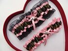 NEW Camouflage Camo Baby Pink Light Pink Wedding Garter Prom Heart & Key Army