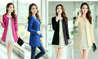 NEW! fashion Women's Clothing Spring autumn Long sleeve Round collar Coats