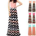 New Sexy Women Summer Long Maxi Evening Party Dress Beach Dresses Sundress C5