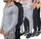 Mens Designer Genetic Apparel Hoody Sweat Top Drop Crotch Jogging Jog Bottoms