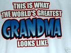 This is what the worlds Greatest GrandMa Looks Like NWOTS Sweat Size Medium