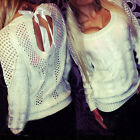 New  Women Long Sleeve Knitwear Jumper Cardigan Long Coat Jacket Casual Sweater