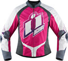 Icon Racing 2016 Womens Overlord Sweet Dreams Jacket Pink XS-2XL