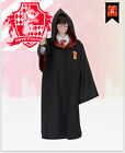 Harry Potter Costume Gryffindor Slytherin Ravenclaw Robe Cloak Halloween Cosplay