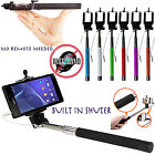 SELFIE STICK MONOPOD WITH AUX CABLE AUXILIARY FOR SAMSUNG GALAXY S4 19500 19505