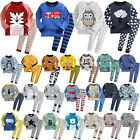 """N.50 Styles"" Vaenait Baby Kids Toddler Boys Clothes Sleepwear Pajama Set 2T-7T"
