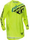 Fly Racing 2016 Lite Hydrogen Limited Edition Jersey Hi-Vis Yellow Men All Sizes
