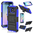 Belt Clip Holster ShockProof Defender Case Cover For Samsung Galaxy S6/S6 Edge <br/> BUY 2 GET 5% OFF ◆ USPS w/Track# ◆ Free Screen Film