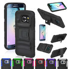 Belt Clip Holster ShockProof Defender Case Cover For Samsung Galaxy S6/S6 Edge