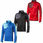 NEW PUMA MESTRE MENS SPORTS FOOTBALL CASUAL TRAINING GYM 1/4 ZIP TOPS JACKET