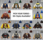 LEGO - Torsos PIRATES - PICK YOUR STYLE - Minifigure Body Parts Arms Hands POC