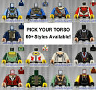 Внешний вид - LEGO - Torsos CASTLE - PICK YOUR STYLE - Kingdom Fantasy Minifigure Body Parts
