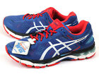 Asics GEL-Kayano 22-SW Blue/White/Fiery Red Wide Expert Running 2015 TJG938-4201
