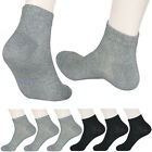 """6 Pairs Lot Mens Ankle Large Socks """"Skin contact surface is 100% cotton"""" Size L"""