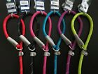 ANCOL ROPE SLIP LEAD STRONG NYLON, LEATHER TAB, DELUXE GUNDOG - NUTS ABOUT MUTTS