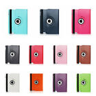 360 Rotating Stand Smart Leather Case Cover for Apple iPad iPad 2 3 4 WWS