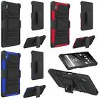 NP CITY Quality Phone Cover Case + Holster Belt Clip For Sony Xperia Z5 / E6653