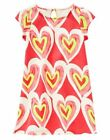 NWT Gymboree Play By Heart Dress w/ Hearts Print 5 7