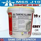 bulk 20x KA Tanking Slurry Grey or White 25kg Bucket Waterproofer damproofing
