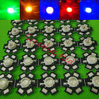 5w 4-chips High Power warm white red green Royal blue yellow UV LED Bead +pcb