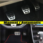 FIT FOR VW POLO 9N3/6R SKODA FABIA AUTO MANUAL FOOT COVER PEDAL PAD CAPS REST