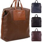 Fashion Womens Men Faux Leather Travel bags Satchel Backpack School Bag Rucksack