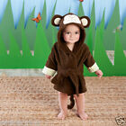 Baby Aspen, hooded spa robe for infants 0-9 months, Choose Monkey or Koala