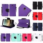 For ZTE Prestige N9132 Premium PU Leather Wallet Cover Case