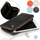 Mobile Phone Case Pouch Cover Smartphone Wallet Portemonnaie Zipper Faux Leather