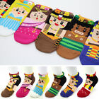 Cute World Friends Fashion Trend Socks Women Girl Character Socks Funny Socks