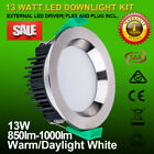SAMSUNG 13W/18W CONCAVE FACE DIMMABLE LED DOWNLIGHTS WARM/ DAYLIGHT WHITE IP44