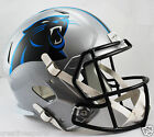 CAROLINA PANTHERS RIDDELL FULL SIZE DELUXE SPEED FOOTBALL HELMET