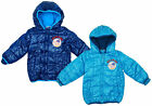 Boys Peppa Pig GEORGE Pig Toddler Hooded Padded Winter Coat 12 to 30 Months