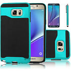 Dual Layer Hybrid Armor Defender Protective Case Cover for Samsung Galaxy Note 5