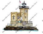 HUNTINGTON BAY HARBOR LIGHTHOUSE LONG ISLAND NY VINYL DECAL IPAD TABLET STICKER