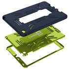 For Apple iPad Air 2 Case Protective Kickstand Hybrid Hard & Soft Tablet Cover
