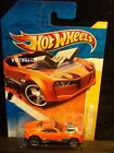 HOT WHEELS 2011 FE #38 -1 TWINDUCTION ORANG AM 11 CARD