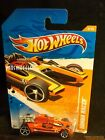 HOT WHEELS 2011 #69 -1 HONDA RACER ORANG AM 11 CARD
