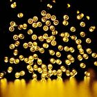 Solar Powered 100 200 LEDs String Fairy Tree Light Outdoor Wedding Party Xmas i фото